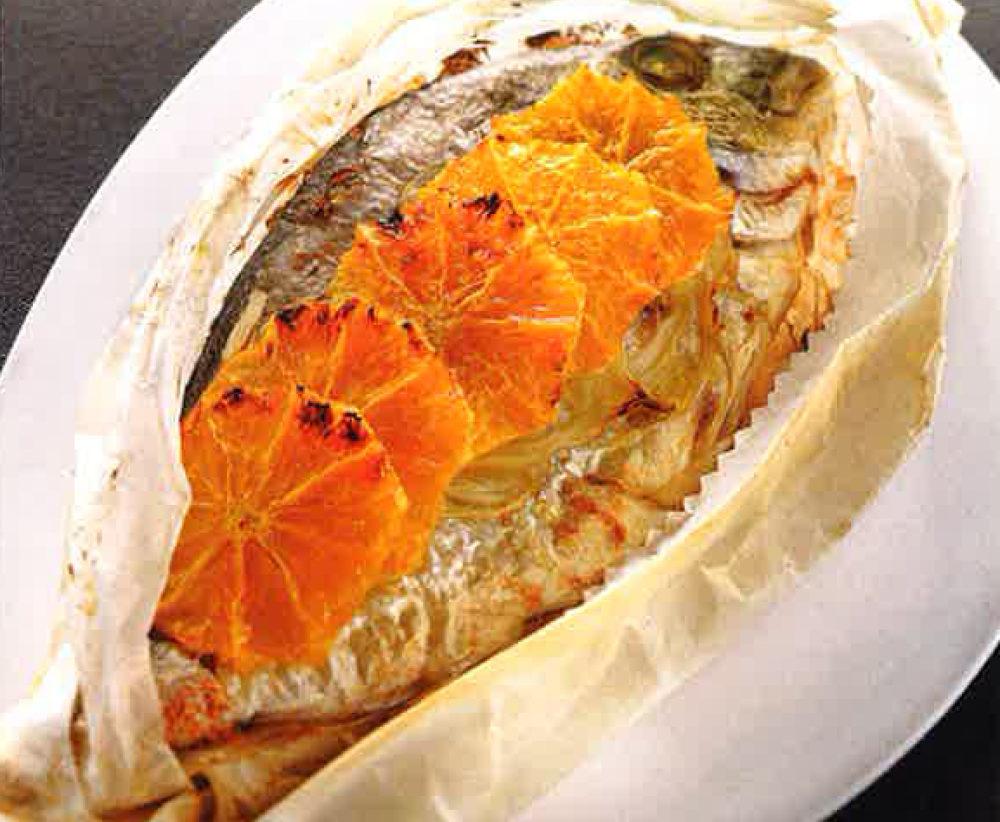Dorade au fenouil et l 39 orange vend e globe culinaire for Dorade en papillote au barbecue