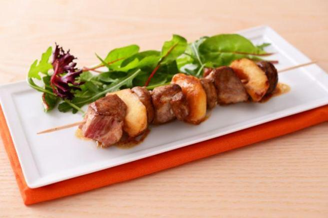 Brochettes porc 5
